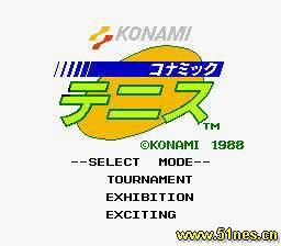konami手机游戏_KONAMI网球(磁碟机版)下载-雪饮nes游戏下载中心|雪饮nes游戏网